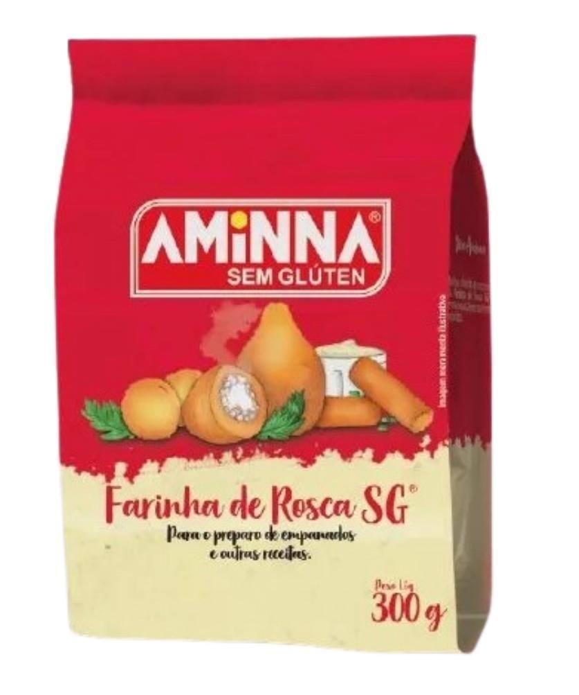 Farinha de rosca Aminna 300g