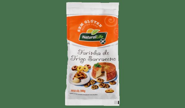 Farinha de trigo sarraceno Natural Life 300g