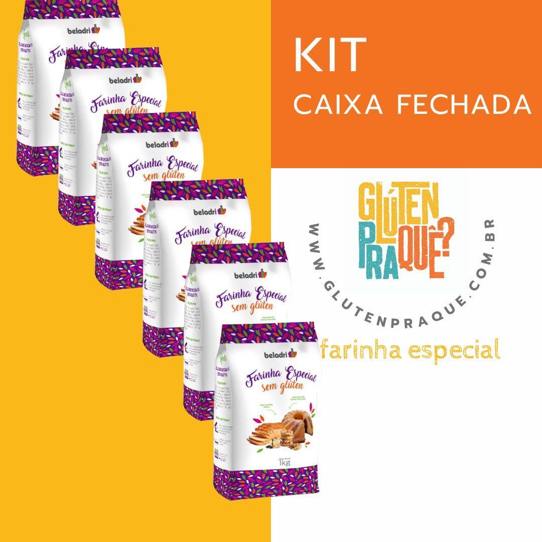 Farinha mix especial Beladri 1kg - Caixa com 6 unidades