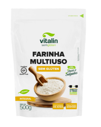 Farinha mix multiuso integral Vitalin 500g