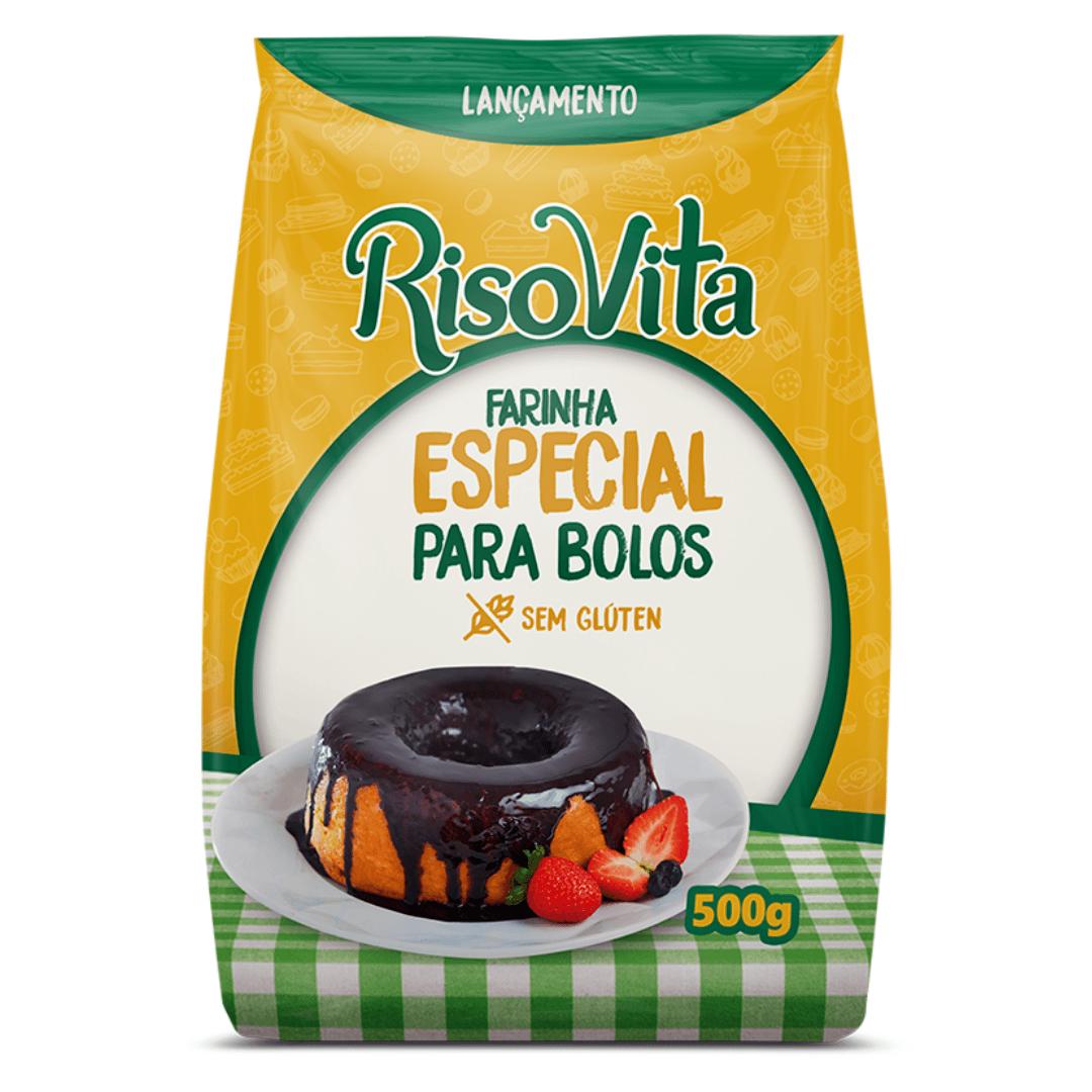 Farinha para Bolos RisoVita 500g