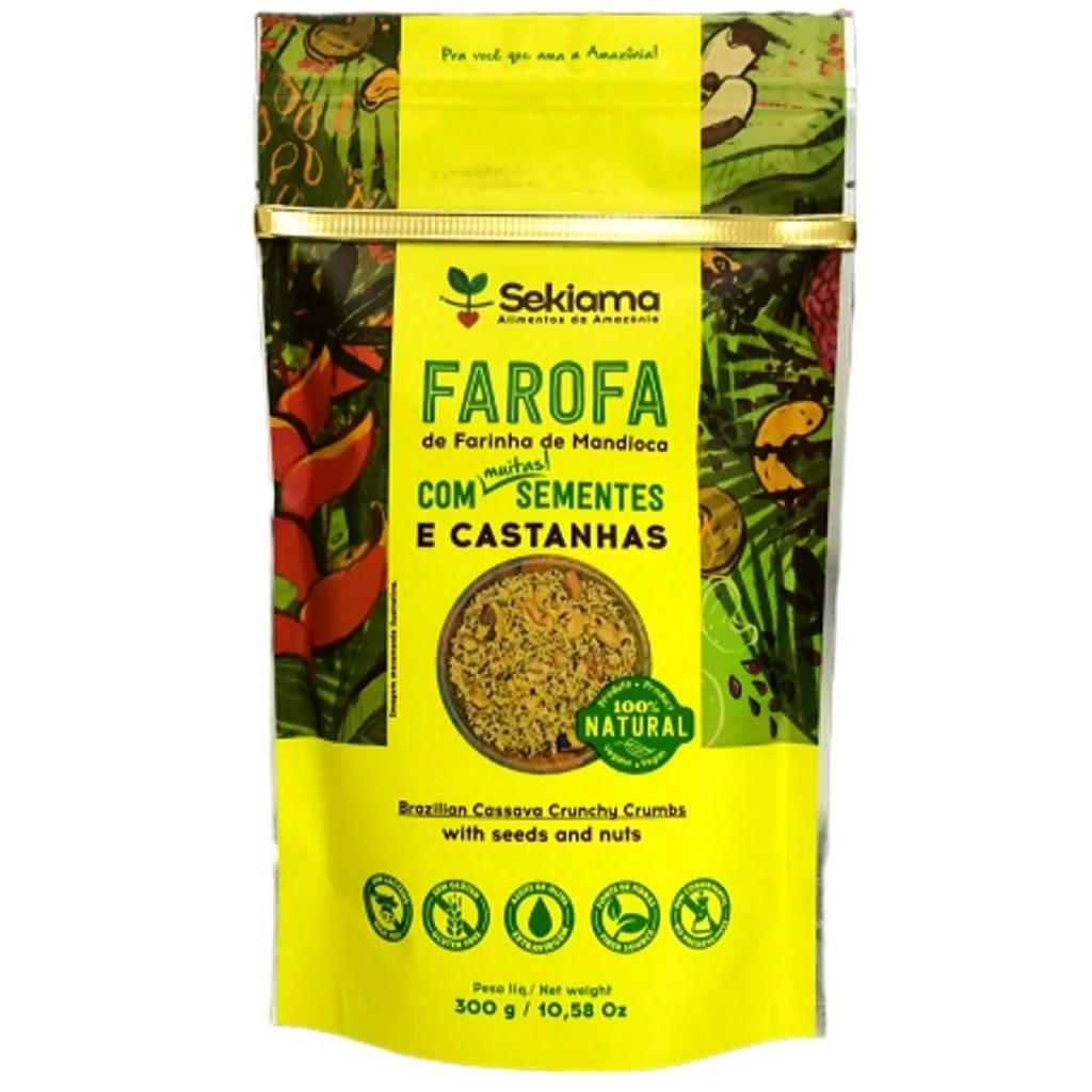Farofa Funcional Com Sementes e Castanhas Sekiama 300g