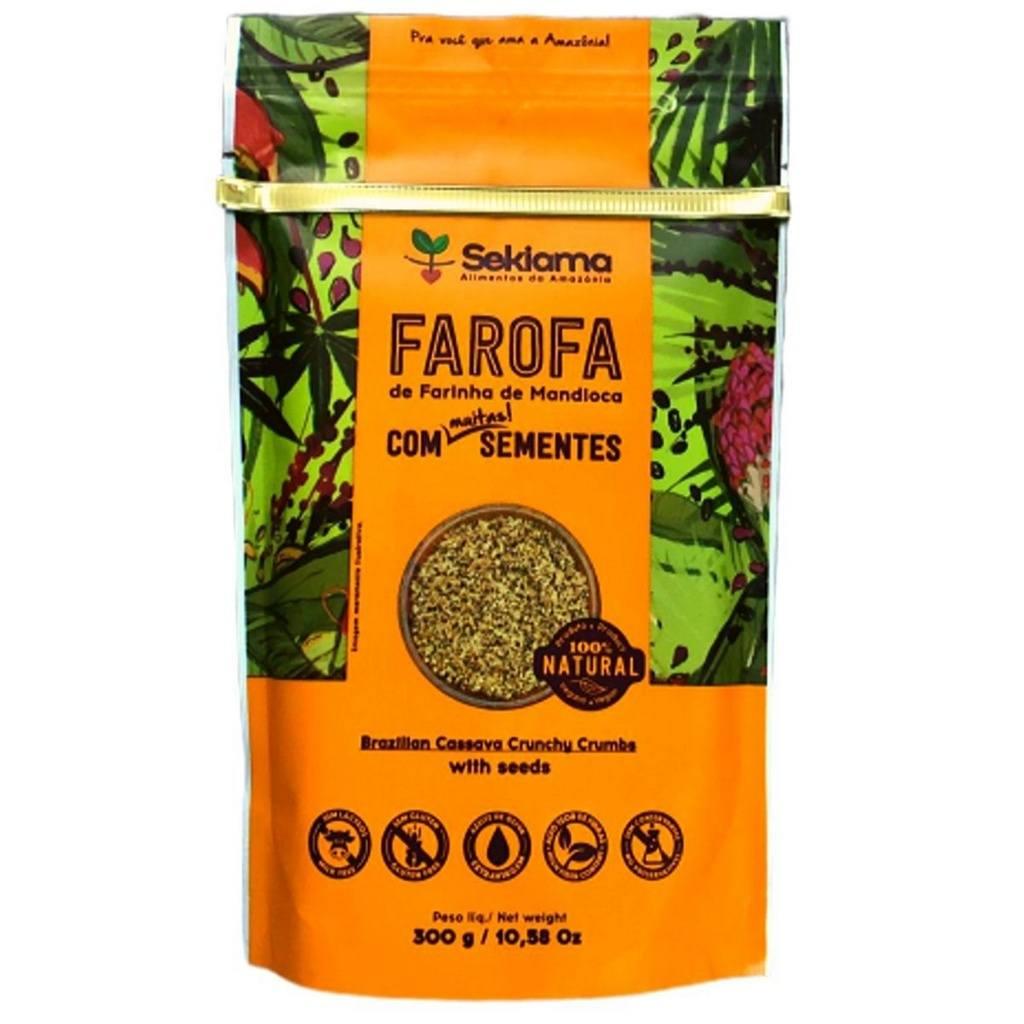 Farofa Funcional Com Sementes Sekiama 300g