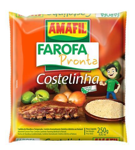 Farofa pronta costelinha Amafil 250g