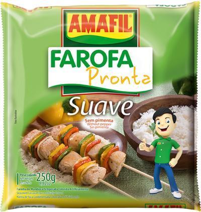Farofa pronta suave Amafil 250g