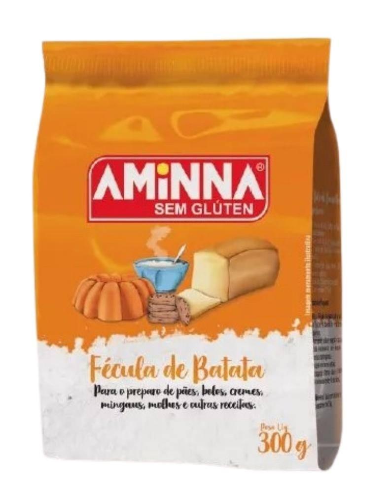Fécula de batata Aminna 300g