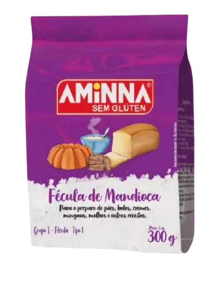 Fécula de mandioca Aminna 300g