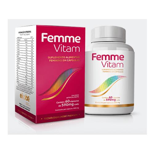 Femme Vitam - Ekobé 60 Cápsulas