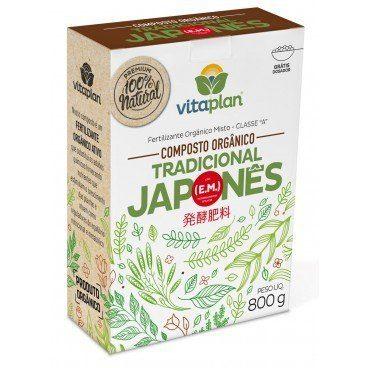 Fertilizante Japonês 100% Natural Nutriplan 800gr