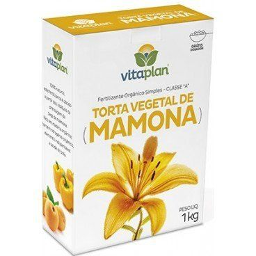 Fertilizante Torta de Mamona Nutriplan 1kg