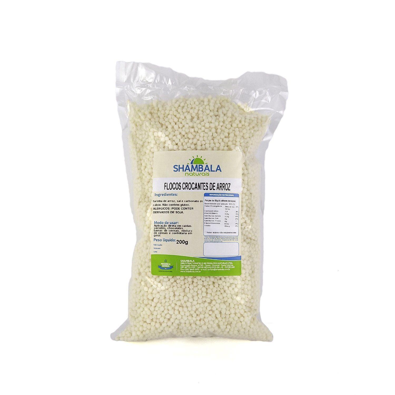 Flocos de arroz Shambala 200g