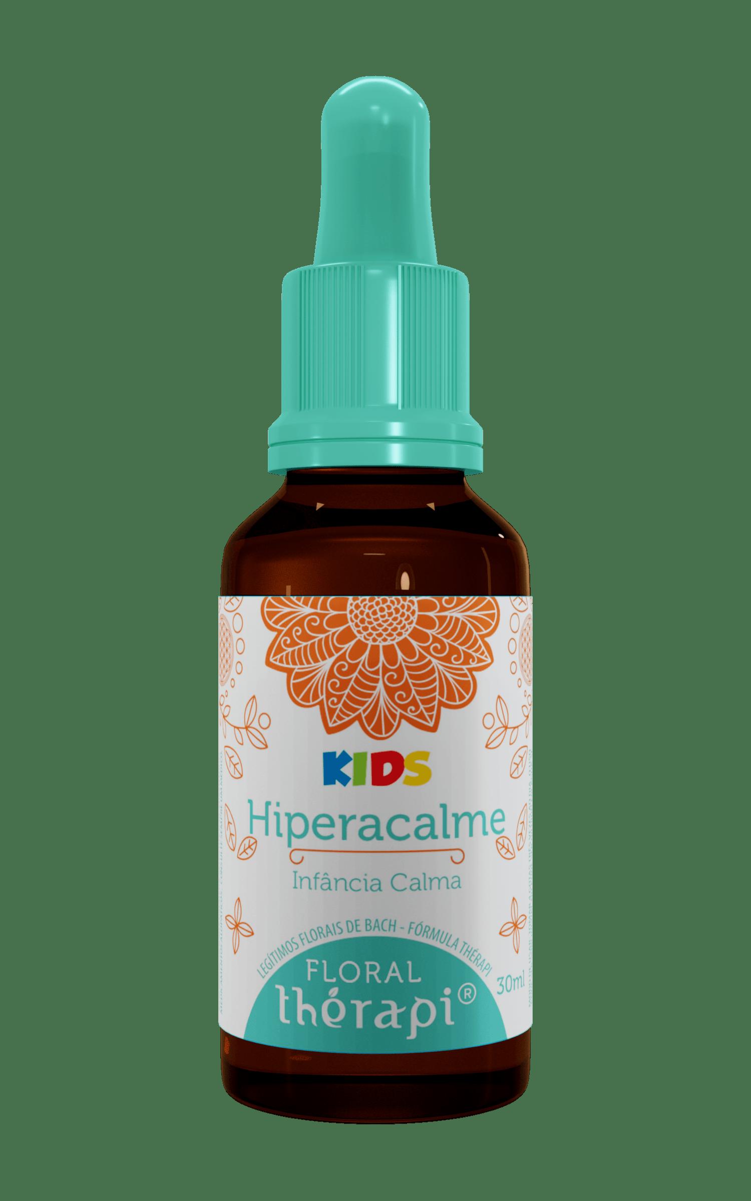 Floral Hiperacalme ( Hiperatividade) - Floral Therapi Kids 30 ml