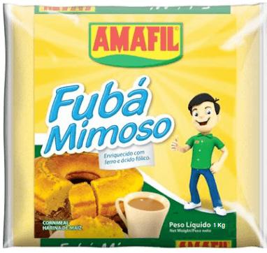 Fubá de milho Amafil 1Kg