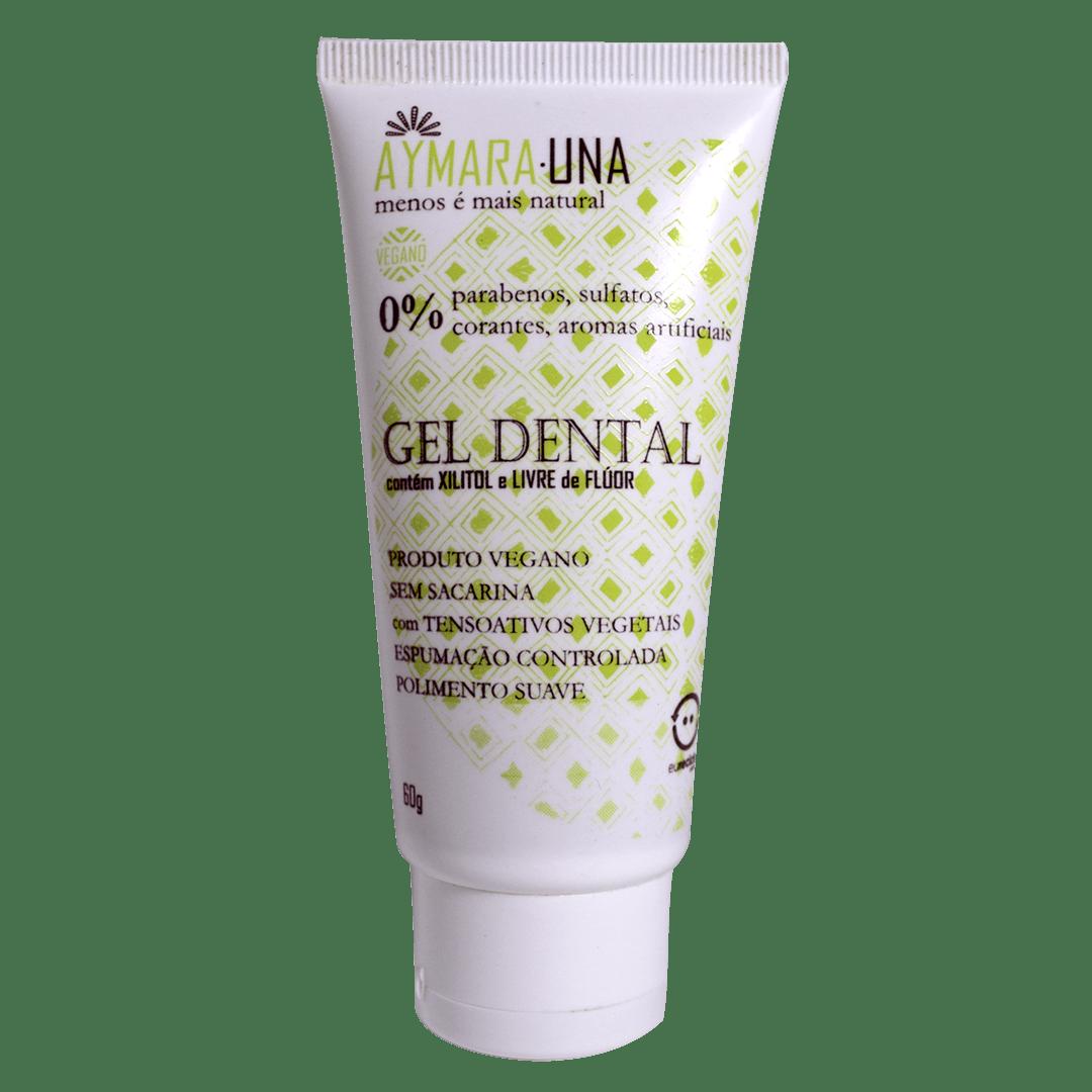 GEL DENTAL A-UNA - 30% Xilitol, Sem Flúor, pH 6,8-7,2 - 60g