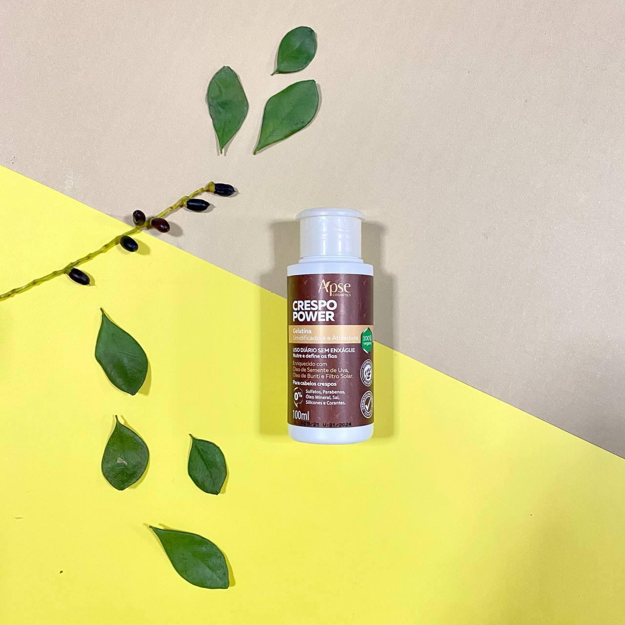 Gelatina Ativadora Umidificadora Crespo Power - Apse Cosmetics 100ml