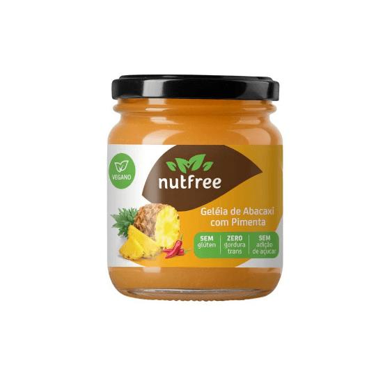 Geléia abacaxi com pimenta NutFree 220g