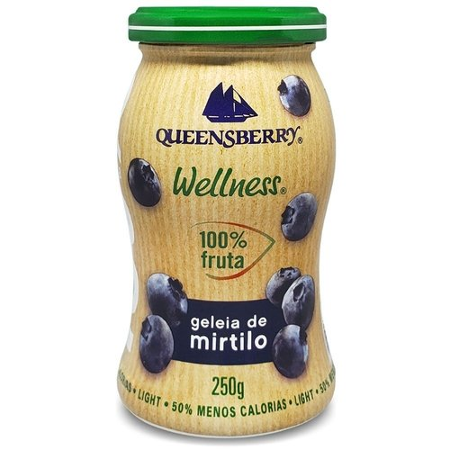 Geleia de Blueberry 100% Fruit Queensberry  250g