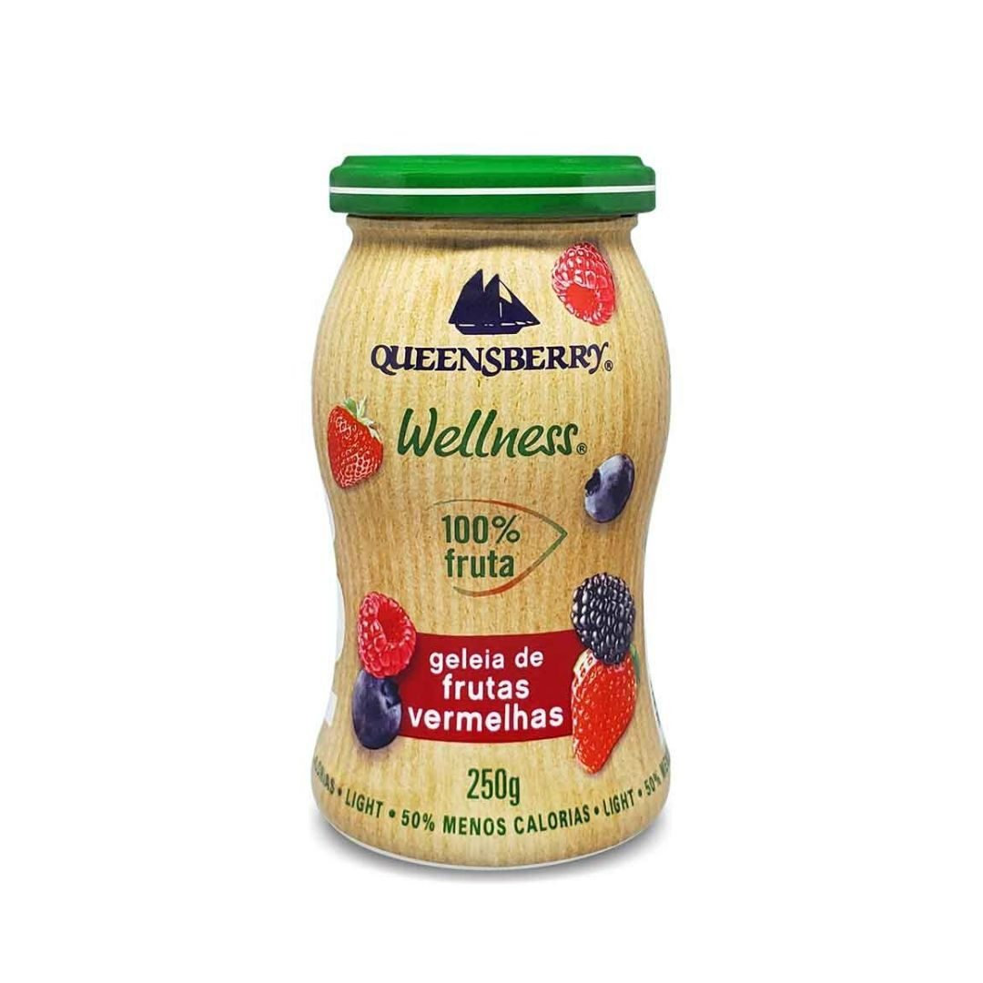 Geleia de Frutas Vermelhas 100% Fruit Queensberry 250g
