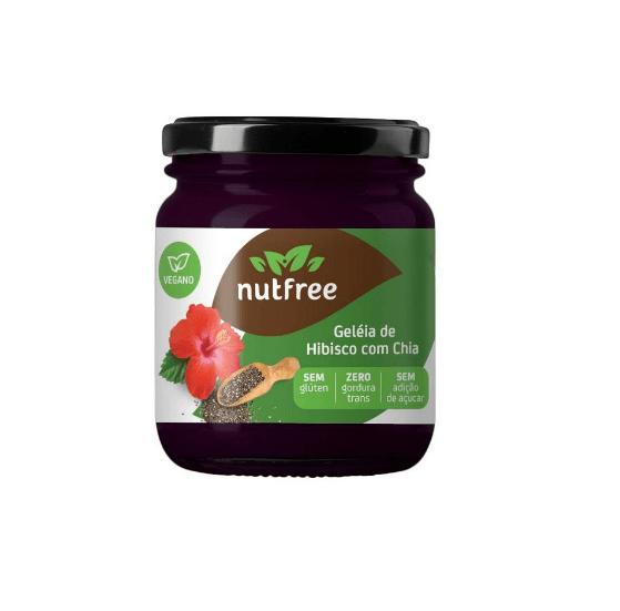 Geléia hibisco com chia NutFree 220g