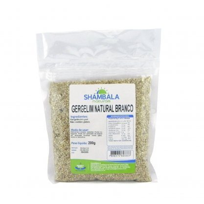 Gergelim Natural Branco Shambala 200g