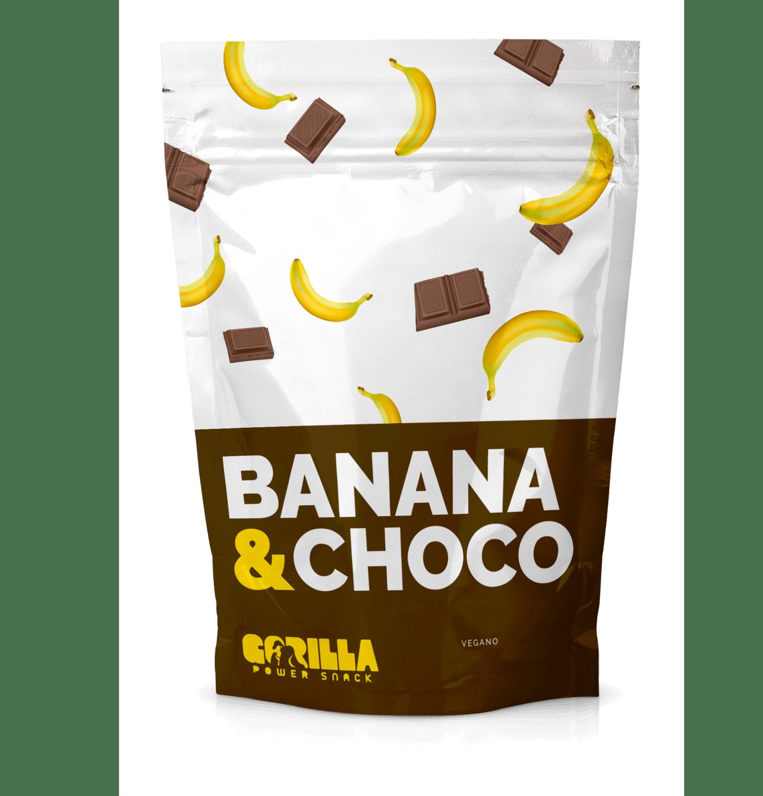 Banana Passa com Chocolate - Gorilla Power Snack 60g
