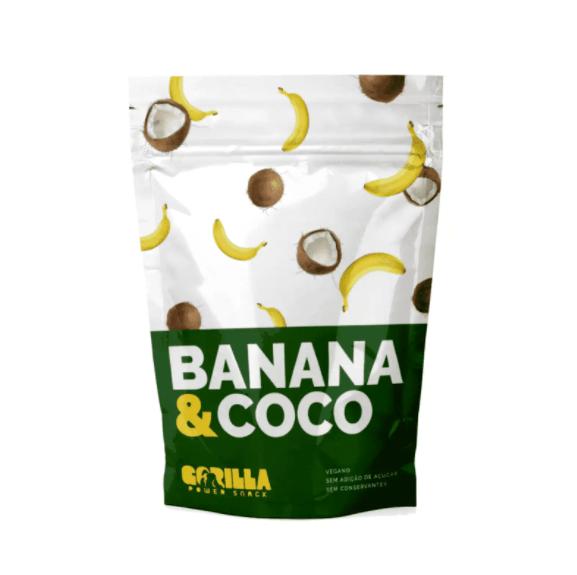 Banana Passa com Coco - Gorilla Power Snack 60g