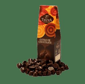 Gotas de chocolate Tnuva 80g