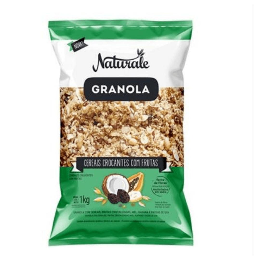 Granola Cereais e Frutas 1kg Naturale