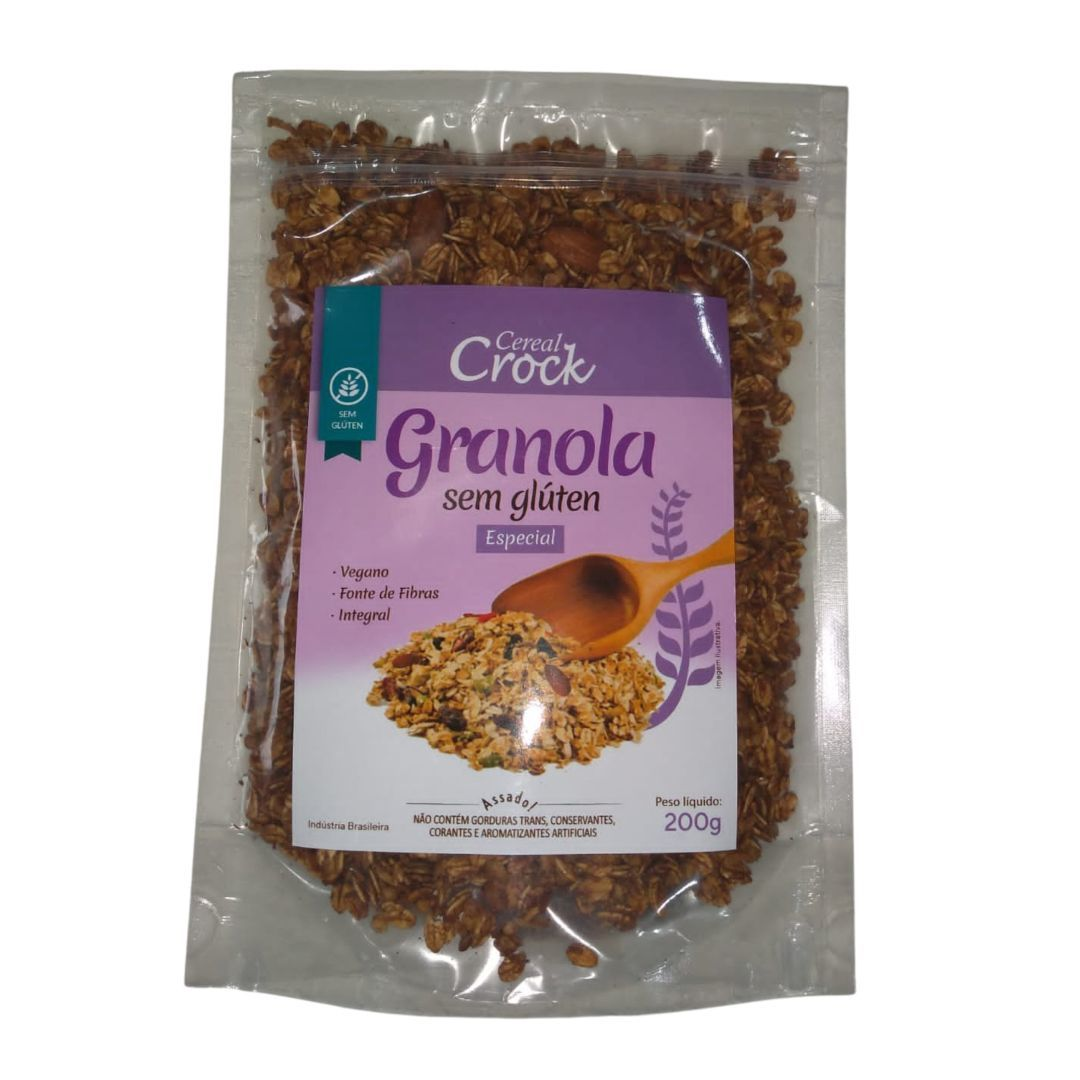 Granola especial Leve Crock 200g