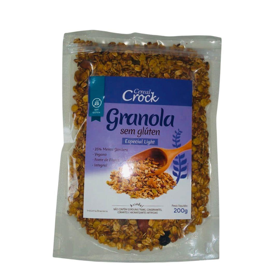 Granola especial light Leve Crock 200g