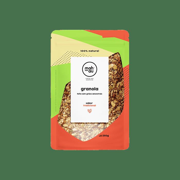 Granola Grãos Ancestrais sabor Tradicional - Mahau 250g