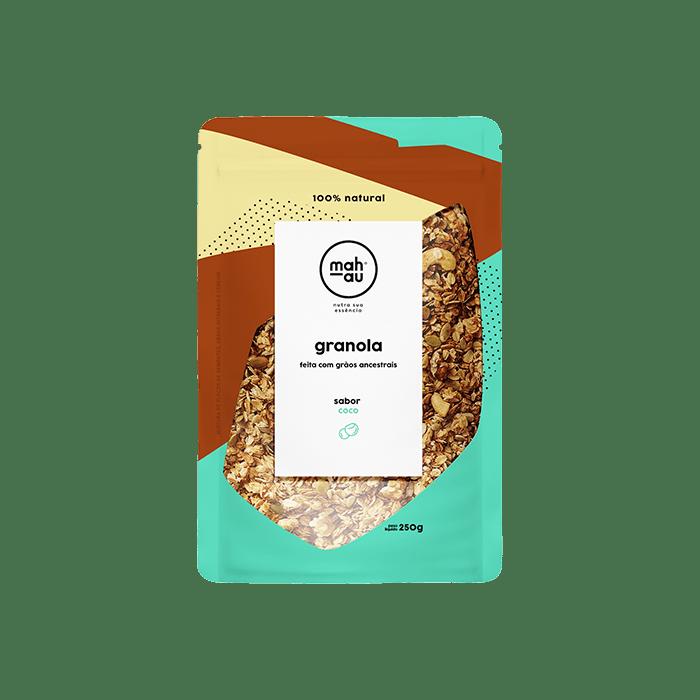 Granola Grãos Ancestrais sabor Coco - Mahau 250g