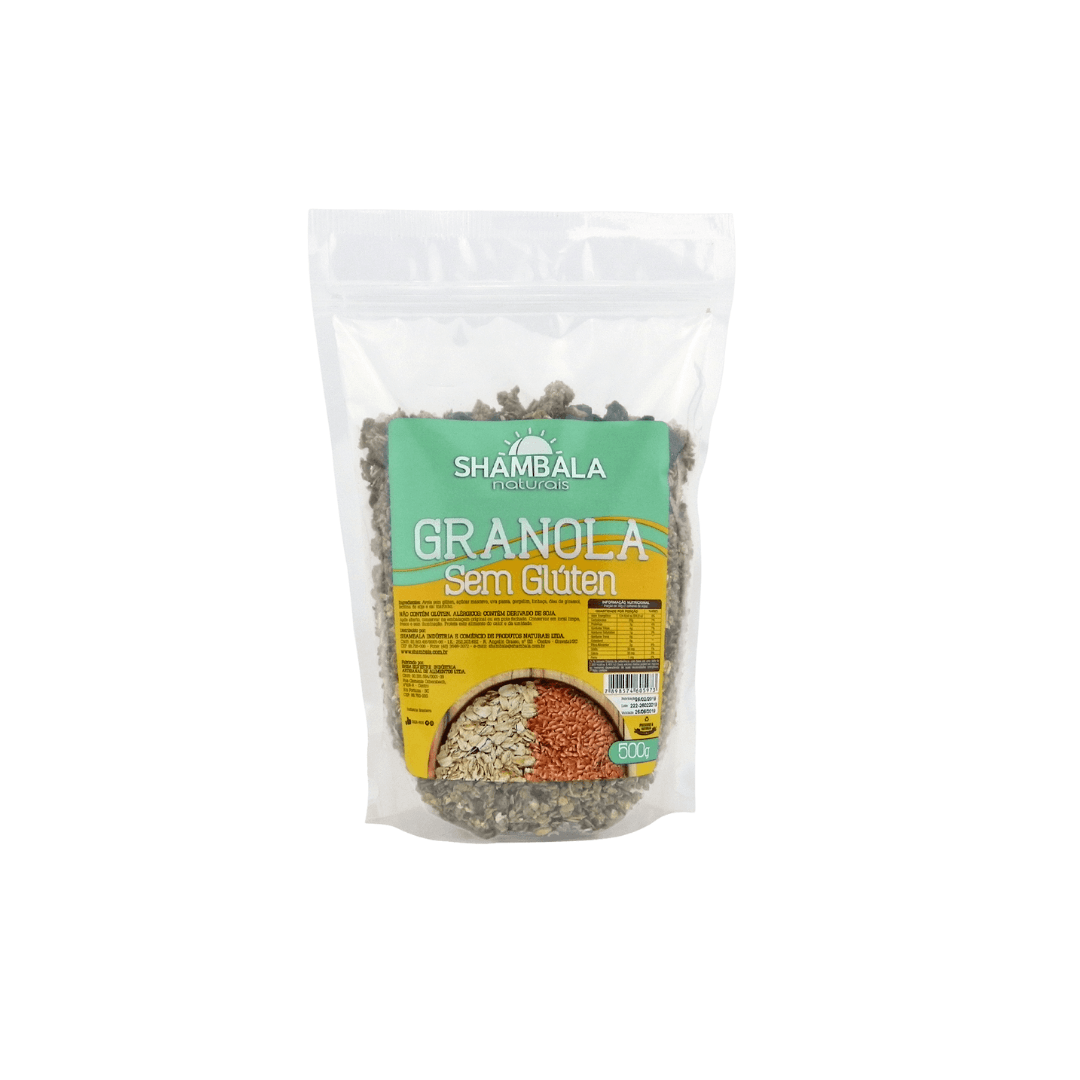 Granola sem glúten Shambala  500g