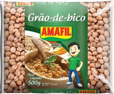 Grão de bico Amafil 500g