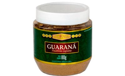 Guaraná em Pó Pote 80g