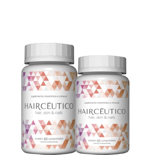 Hairceutico Suplemento Alimentar Em Comprimidos - Kit 2 unidades