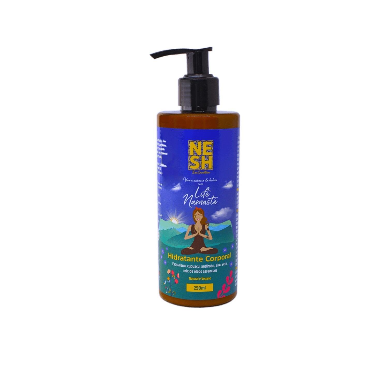 Hidratante Corporal Life Namastê 100% Natural - Nesh Cosméticos 250 ml