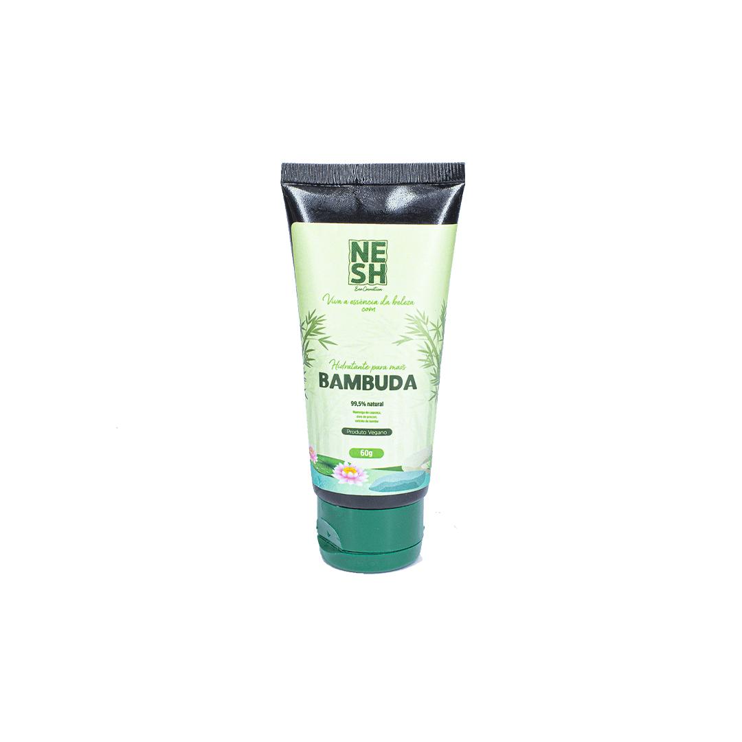 Hidratante para Mãos Bambuda Vegano 99,5% Natural - Nesh Cosméticos 60g