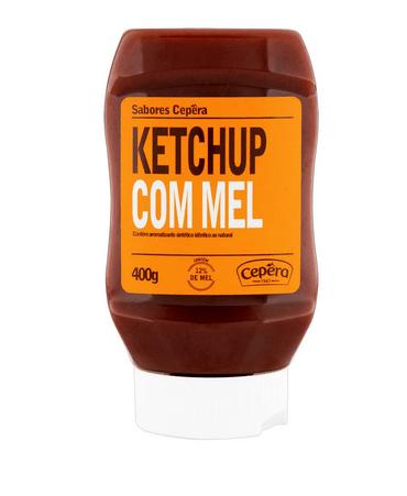 Ketchup com mel Cepêra 400g