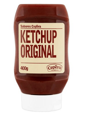 Ketchup original Cepêra 400g