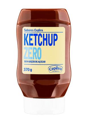 Ketchup zero Cepêra 370g