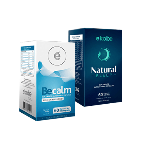 Kit BeCalm + Natural Sleep - Ekobé