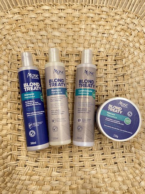 Kit Blond Treaty - Apse Cosmetics