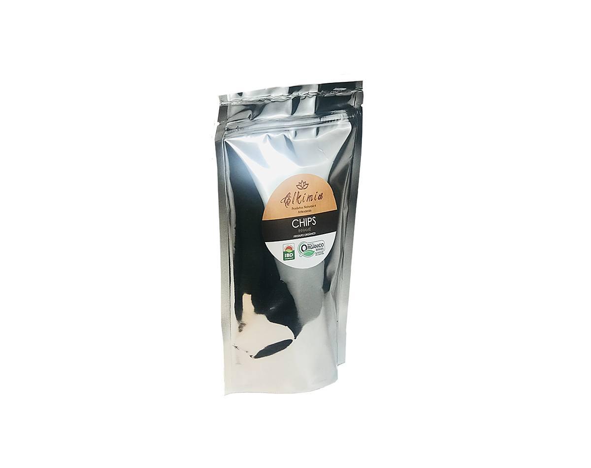 Chips De Inhame Orgânico Kit C/ 3 Unidades - Alkimia Simples Assim 40g