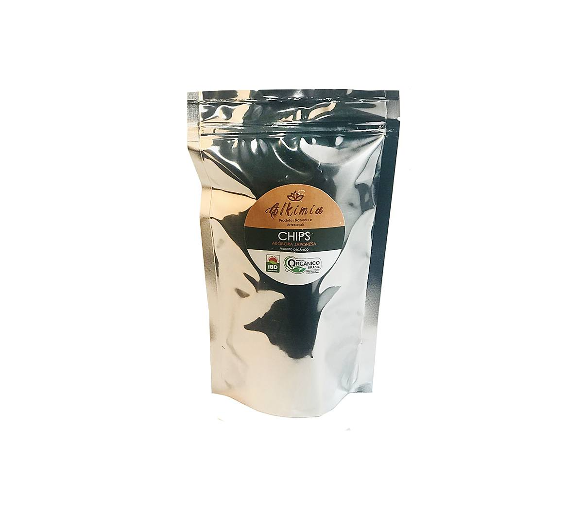 Chips De Kabocha Orgânico Kit C/ 3 Unidades - Alkimia Simples Assim 40g
