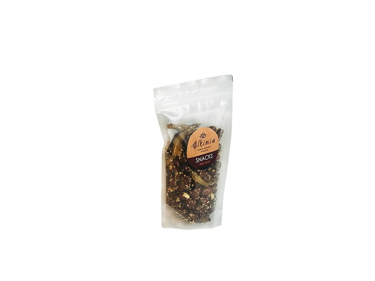 Snack Iriko Alho Kit C/ 5 Unidades - Alkimia Simples Assim 100g