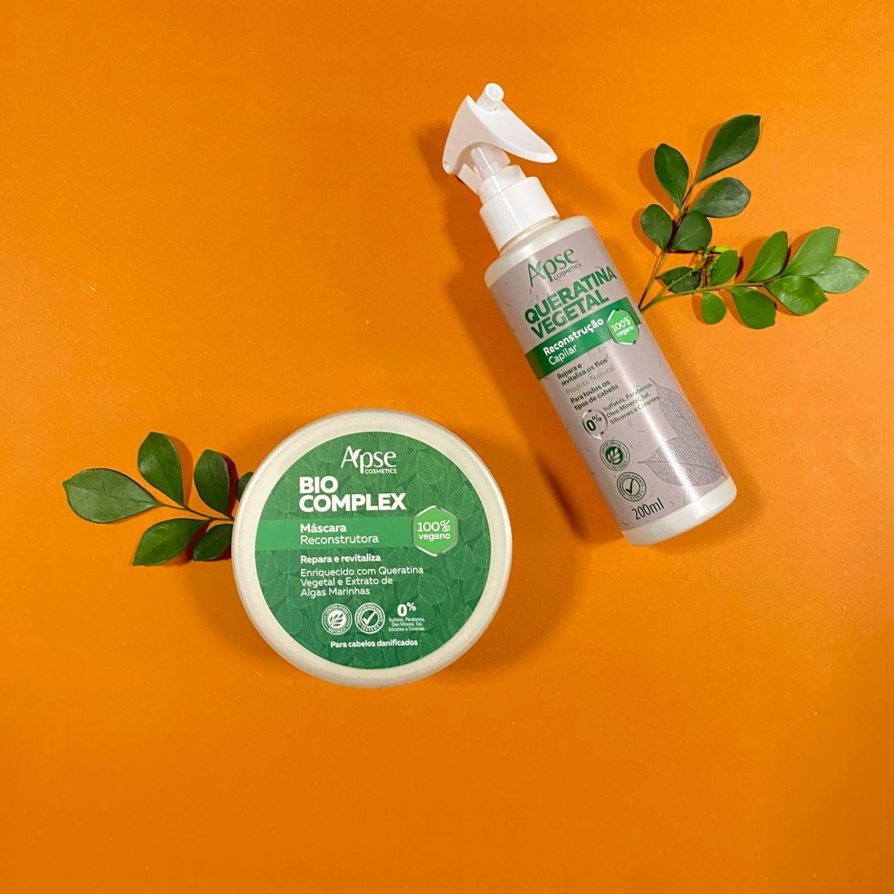 Kit Cabelos Super Danificados Bio Complex - Apse Cosmetics