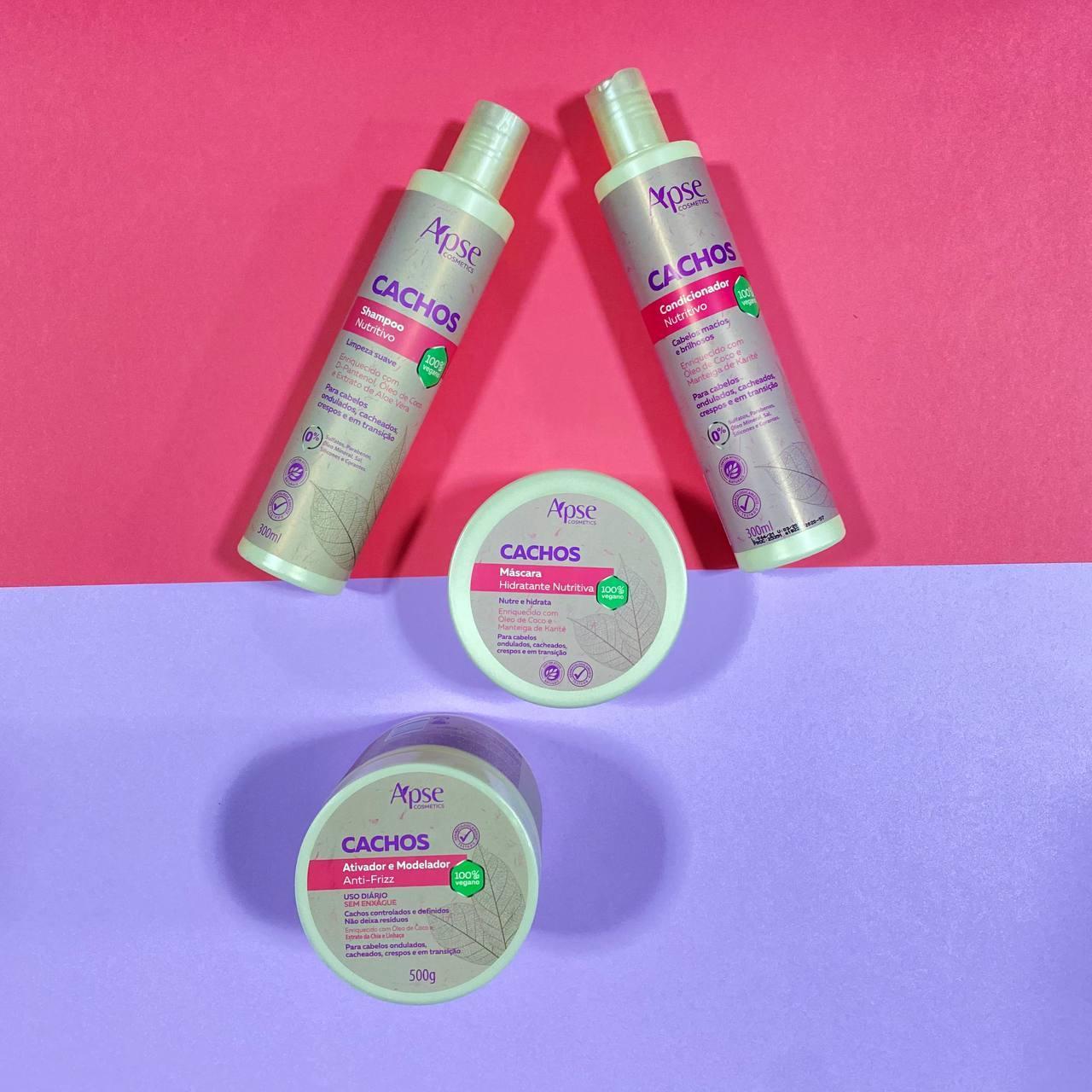 Kit Cachos (4 ITENS) - Apse Cosmetics
