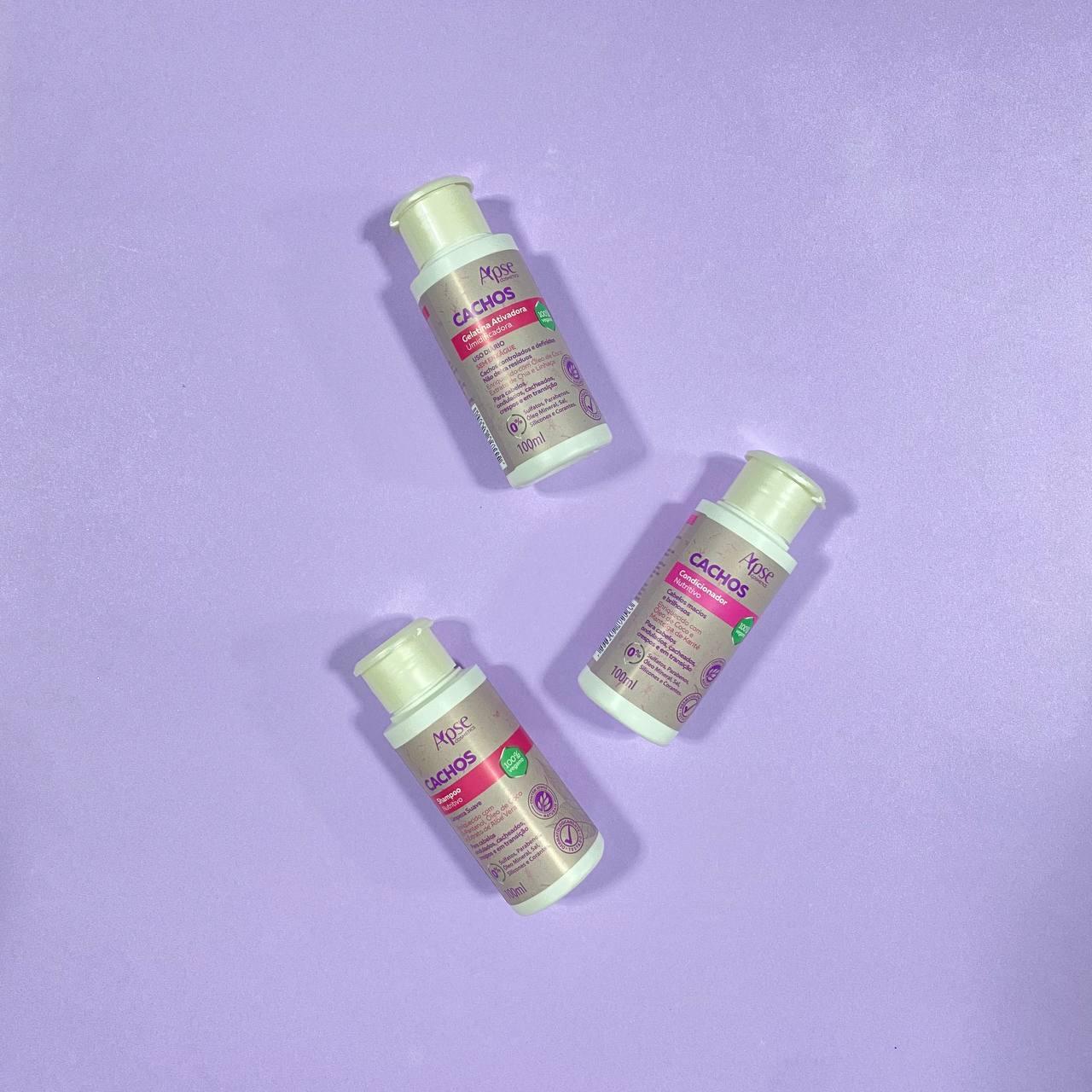 Kit Cachos Viagem - Apse Cosmetics