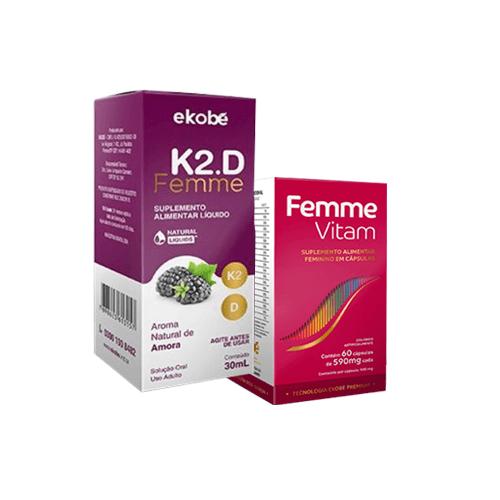 Kit K2.D Femme + Femme Vitam - Ekobé